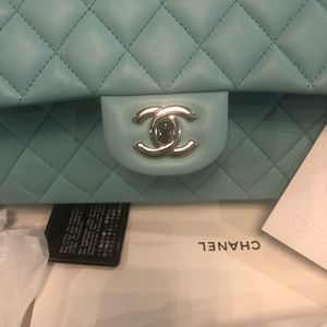 CHANEL Bags - Not For Sale CHANEL Tiffany Blue Medium